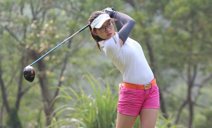 Golfer nữ duy nhất tại FLC Vietnam Masters 2018 mới… 15 tuổi