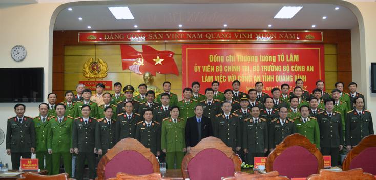 Bộ trưởng Tô Lâm,Bộ trưởng công an,bộ công an,Quảng Bình