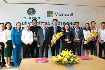 Phú Long 'bắt tay' Microsoft đẩy mạnh số hóa doanh nghiệp