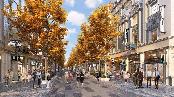 Shophouse Europe: Đầu tư dài hạn cho tương lai bền vững