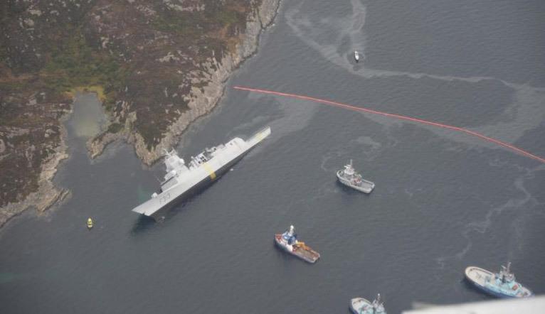 Na Uy,tập trận,tàu chiến,NATO,Nga