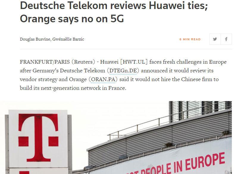 Huawei,Broadcom,Intel,Qualcomm,cuộc chiến thương mại,cuộc chiến công nghệ,căng thẳng Mỹ Trung,Donald Trump