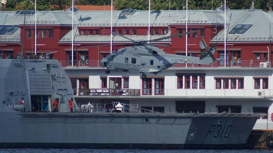 Chiến hạm Na Uy bị chìm mạnh cỡ nào?