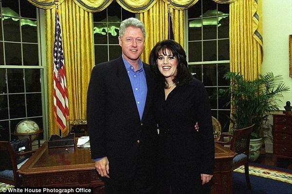 Tổng thống Mỹ,Bill Clinton,Monica Lewinsky,thực tập sinh,Nhà Trắng
