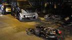 Nữ tài xế Lexus đâm loạt xe la liệt ven hồ Tây: Lời kể nhân chứng