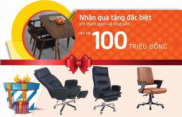 Thêm 1 showroom nội thất 'made in Vietnam' chất lượng