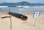 Quả ngư lôi gần 7 mét mắc lưới ngư dân Phú Yên