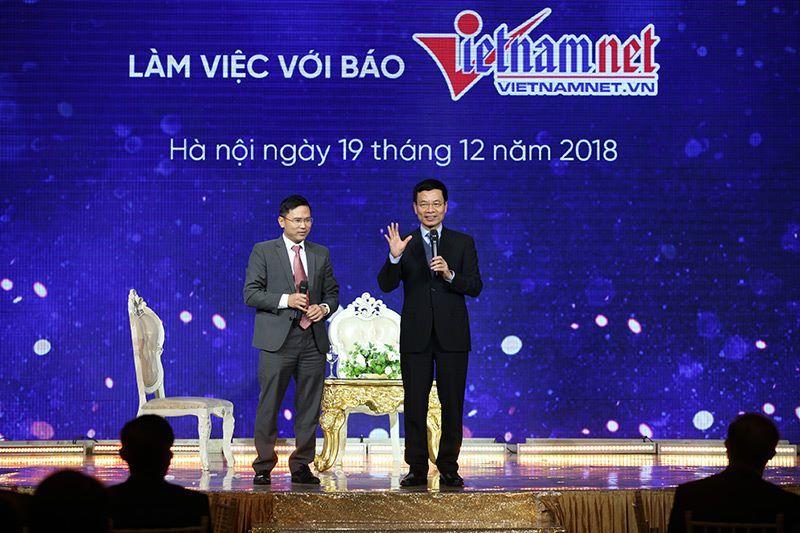 VietNamNet,báo chí,Bộ trưởng TT-TT,Nguyễn Mạnh Hùng