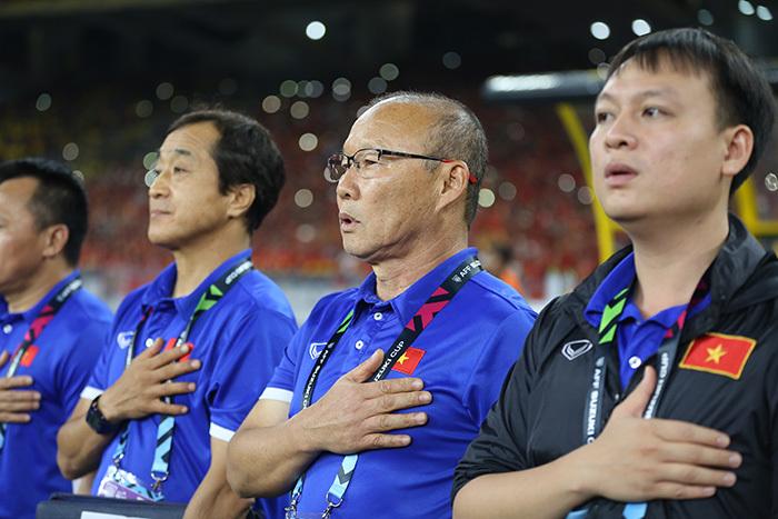 VFF chưa gia hạn hợp đồng với HLV Park Hang Seo