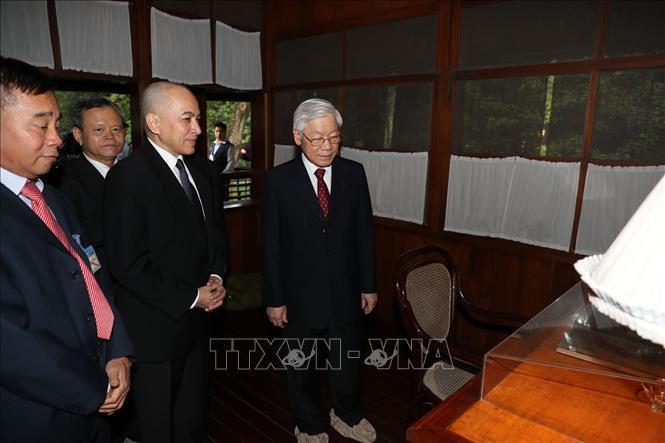 Tổng bí thư,Chủ tịch nước Nguyễn Phú Trọng,Nguyễn Phú Trọng,Việt Nam-Campuchia