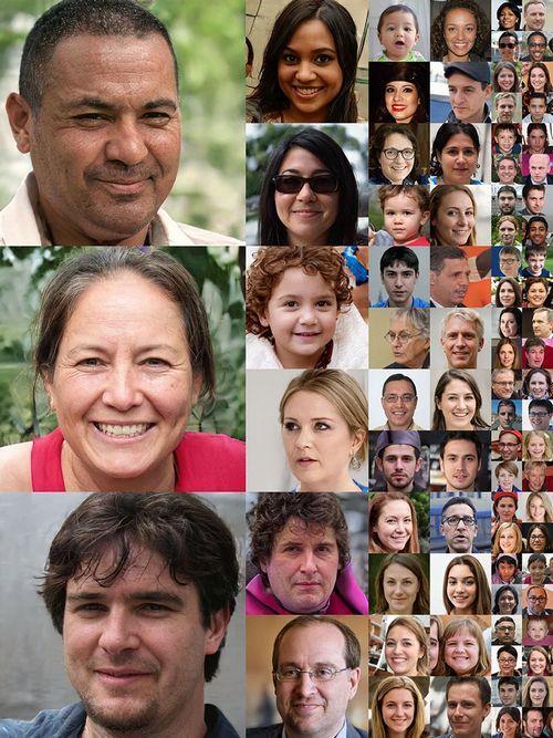 Những khuôn mặt hoàn toàn được tạo ra bởi trí tuệ nhân tạo