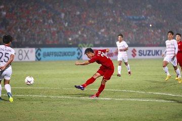 Phan Văn Đức ẵm giải Bàn thắng đẹp nhất AFF Cup 2018