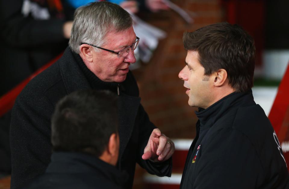 Pochettino,MU,Tottenham,Sir Alex Ferguson