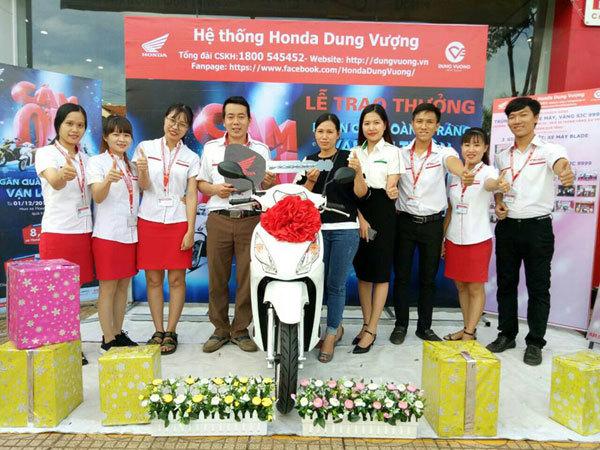 Hơn 10 vạn khách hàng nhận quà tri ân từ Honda