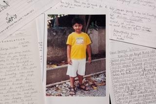 Cậu bé Philippines được Bush 'cha' bảo trợ và gửi thư tay