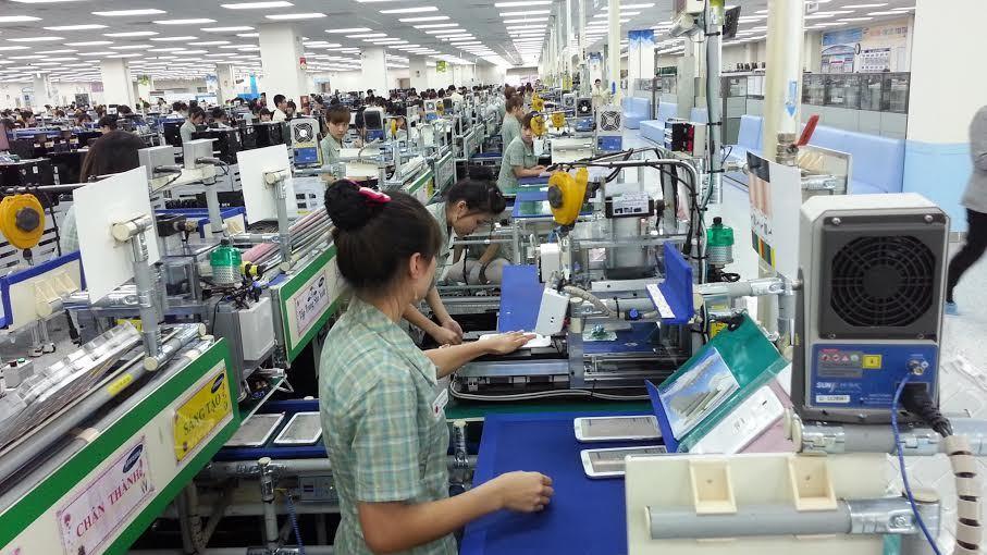 Công nghiệp hỗ trợ,Samsung,công nghiệp điện tử,linh kiện điện tử,nhà cung ứng