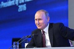 Lượng phóng viên kỷ lục dự họp báo của ông Putin