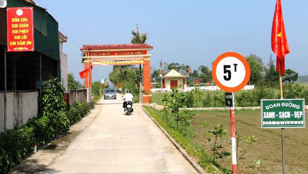 Hà Tĩnh có huyện đầu tiên đạt chuẩn Nông thôn mới