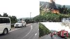 Hai xe bồn tông nhau kinh hoàng trên đèo Hải Vân: 1 người chết