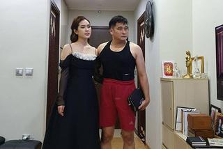 Hình ảnh 'bá đạo' của vợ chồng diễn viên Minh Tiệp