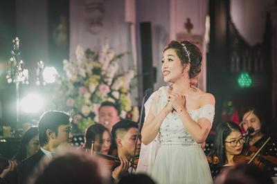Đêm nhạc ở Nhà thờ Lớn của Phạm Thu Hà: Chạm tới ước mơ