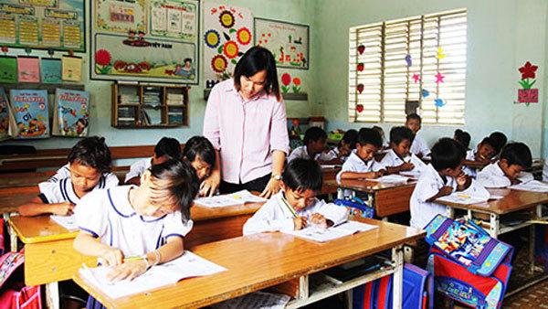 Tăng cường tiếng Việt cho 100% HS tiểu học dân tộc thiểu số