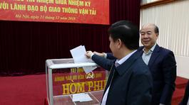 Bộ GTVT lấy phiếu tín nhiệm Bộ trưởng, Thứ trưởng