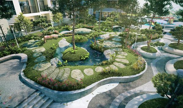 The Zen Residence Gamuda - căn hộ xanh giữa lòng Thủ đô