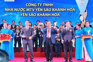 Yến Sào Khánh Hòa được vinh danh Thương hiệu quốc gia 2018