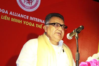 Đem tinh thần Yoga Ấn Độ đến Việt Nam