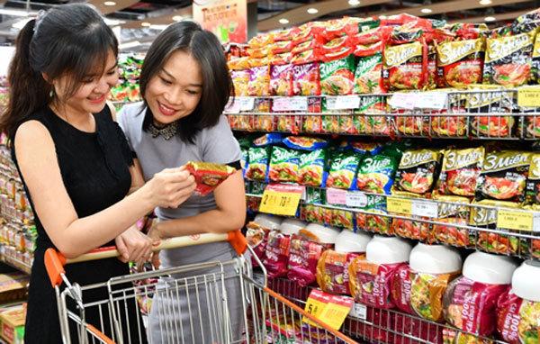 hương vị Việt,thị trường mì gói