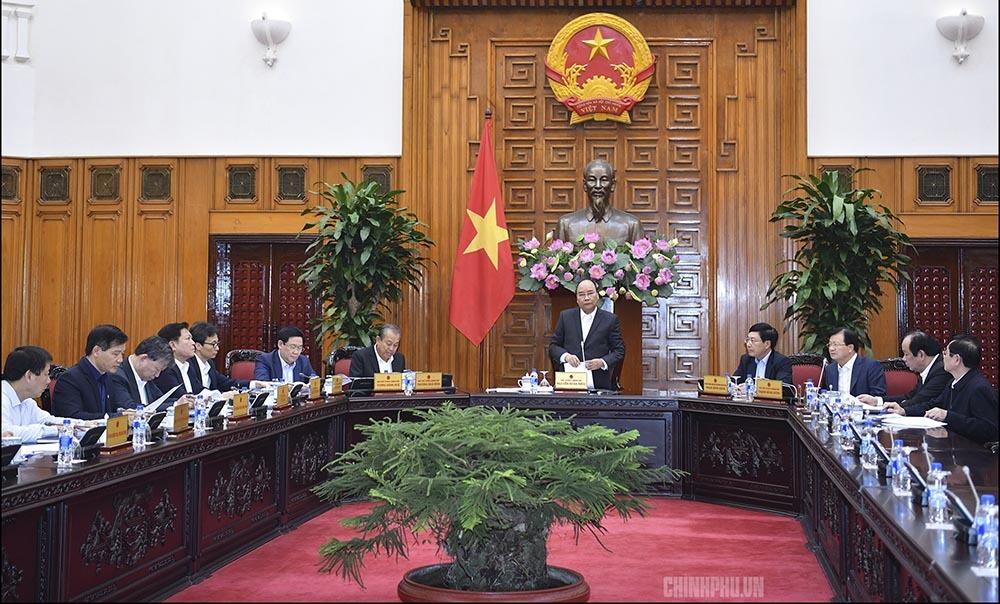 Ban Cán sự Đảng Chính phủ họp kiểm điểm công tác năm 2018
