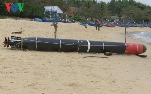 Quả ngư lôi mắc lưới ngư dân Phú Yên là của Trung Quốc