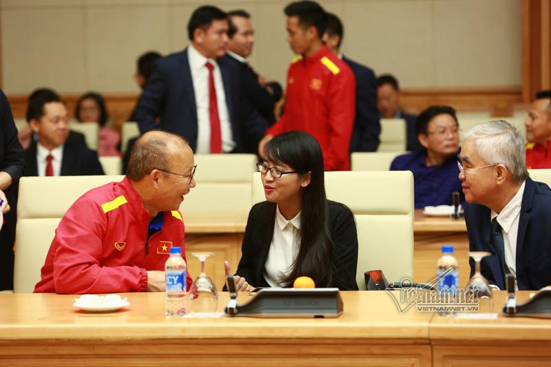 HLV Park Hang Seo,Thủ tướng,Nguyễn Xuân Phúc,đội tuyển Việt Nam