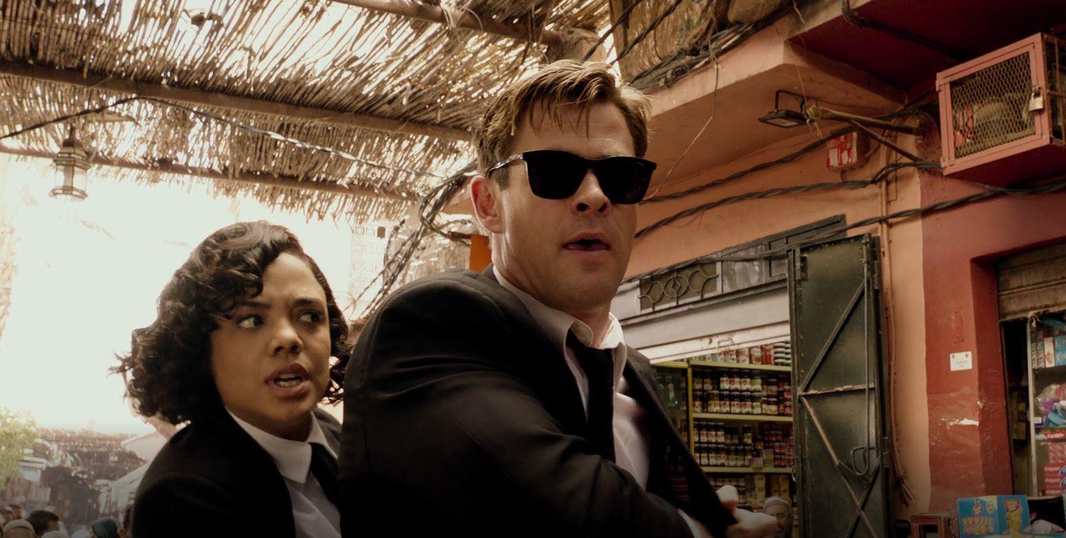 Chris Hemsworth,Đặc vụ áo đen,phim điện ảnh