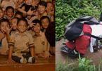 Cậu bé đến trường bằng đôi tay trở thành hiện tượng của Indonesia