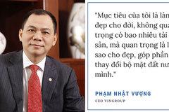 Đại gia Việt và những triết lý kinh doanh 'càng đọc càng thấm'