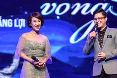 Uyên Linh 'tinh quái' với câu hỏi xoáy của MC Lê Anh ở show Vũ Thắng Lợi