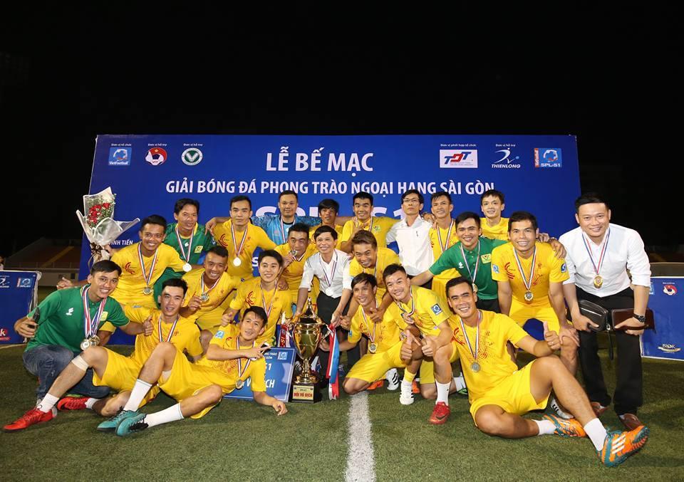 Văn Minh Miền Nam vô địch Sài Gòn Premier League 1