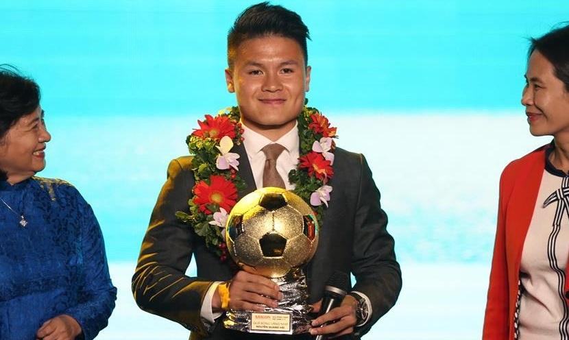 Quả bóng vàng Việt Nam 2019: Quang Hải sáng nhất