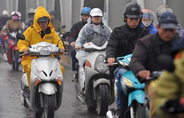 Dự báo thời tiết 23/12: Miền Bắc mưa rét, có nơi 10 độ