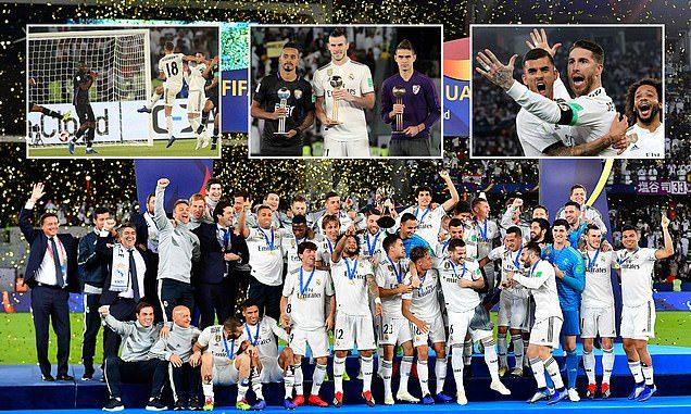 Real Maddrid lần thứ 4 vô địch FIFA Club World Cup