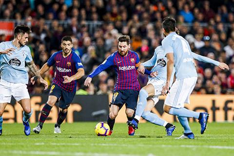 Messi tỏa sáng, Barca xây chắc ngôi đầu bảng