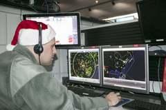 Mạng lưới theo dõi ông già Noel tại Mỹ