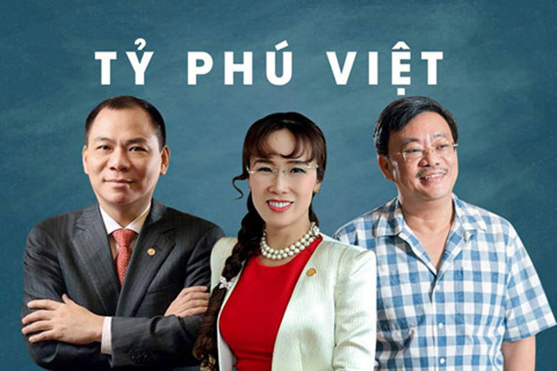 Đoàn Nguyên Đức,Đỗ Quang Hiển,Bầu Hiển,Nguyễn Đăng Quang,Phạm Nhật Vượng,tỷ phú Việt,bóng đá