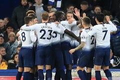 """""""Song sát"""" Son - Kane giúp Tottenham thắng Everton bằng set tennis"""