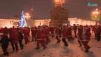 Xem hàng ngàn ông già Noel thi chạy