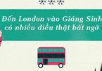 50 điều thú vị không nơi đâu có khi đến London vào Giáng Sinh