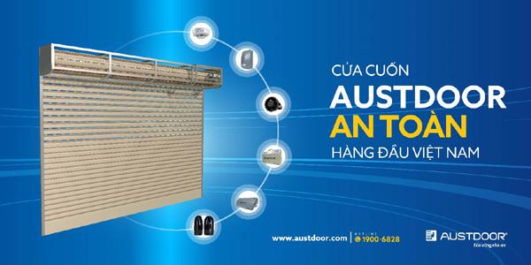Austdoor - Thương hiệu cửa cuốn duy nhất đạt Thương hiệu Quốc gia
