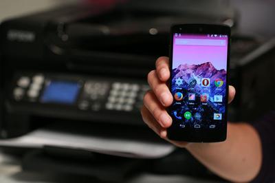 Cách in tài liệu và hình ảnh từ thiết bị Android